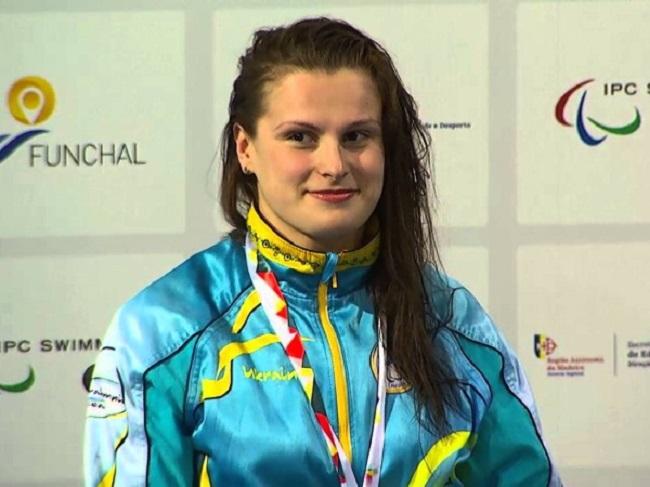 Плавчиня з Кропивницького посіла восьме місце на Паралімпіаді