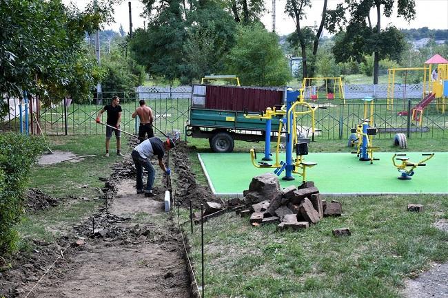 У Приютівській громаді облаштовують «Активний парк»