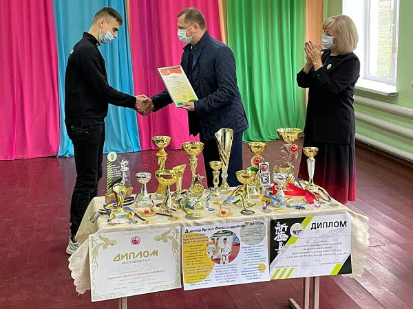 Спортсмен з Олександрійщини представлятиме Україну на Чемпіонаті Європи з карате