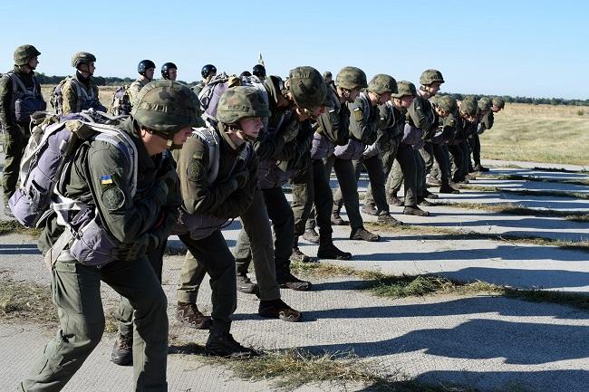 В Олександрії зібралися десантники