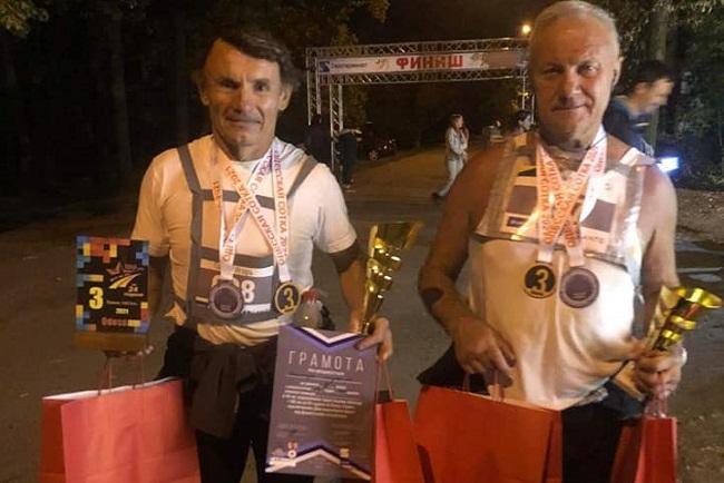 Житель Олександрії пробіг 100 км поясом Слави