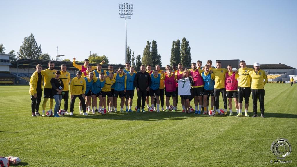 """Футболісти """"Олександрії"""" тренуються на новому полі"""