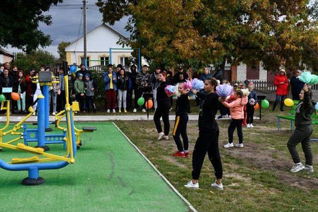 У Приютівці відкрили «Активний парк»