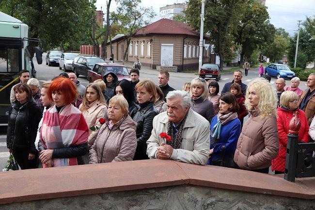 В Олександрії вшанували партизан та підпільників