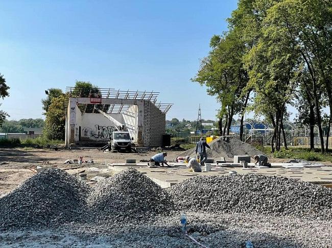 Фонтан у парку Шевченка планують запустити у жовтні