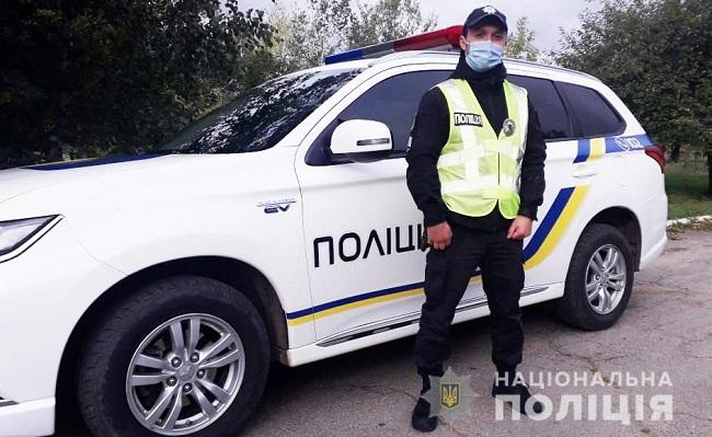 На Олександрійщині поліцейський викрив водія, який втік з місця ДТП