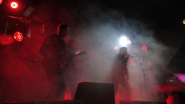 Гурт з Німеччини запалював в центрі Олександрії (ФОТО)