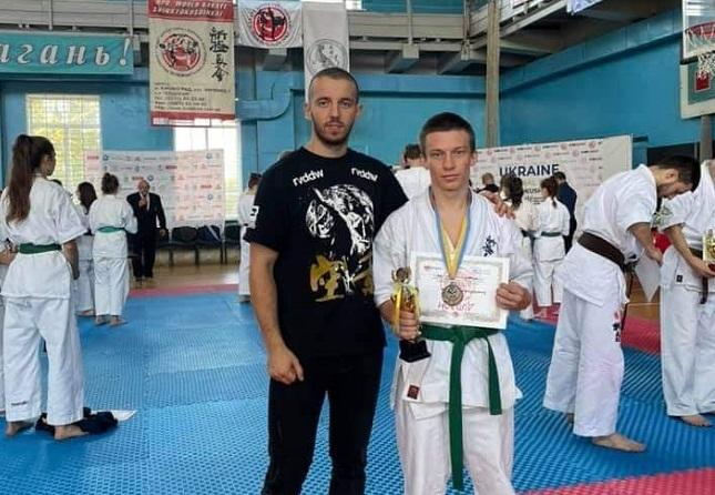 Олександрійський спортсмен посів III місце у чемпіонаті України з кіокушинкай карате