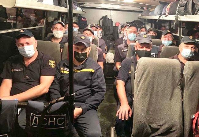 Зведений підрозділ рятувальників вирушив на допомогу