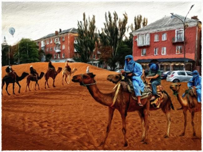 Арт-мандрівка знайомими місцями Олександрії