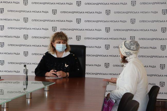 Ірина Чемерис провела прийом громадян з особистих питань