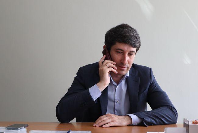 Сергій Кузьменко провів прямий телефонний зв'язок з олександрійцями