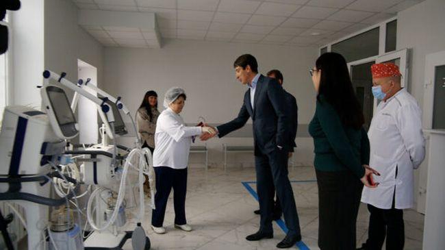 Для центральної міської лікарні Олександрії придбали два надсучасних апарати ШВЛ