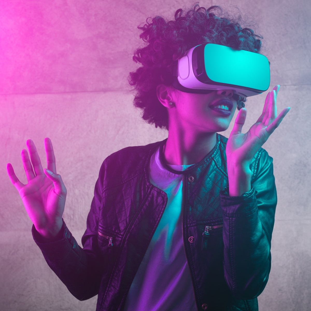 VR Is the Use of Computer Technology to Create a Simulated Environment.