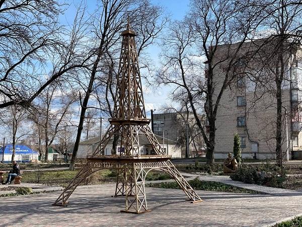 Цікаві місця Кіровоградщини.Ейфелева вежа у Помічній