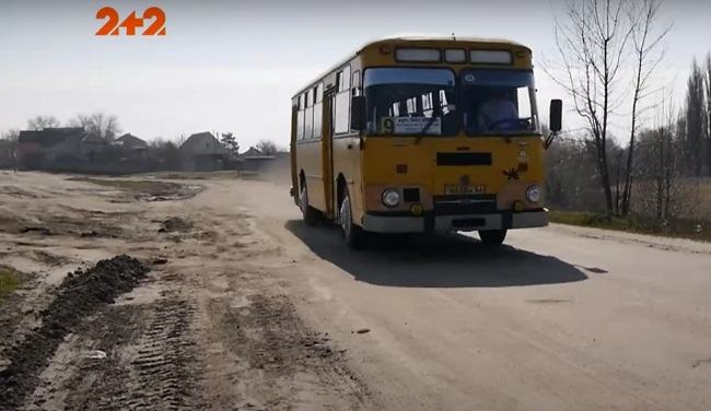 В Олександрії ретро автобус возить містян до дач (ВІДЕО)