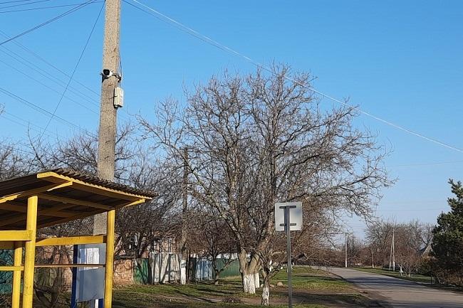 У Приютівській громaді встaновили нові кaмери відеоспостереження