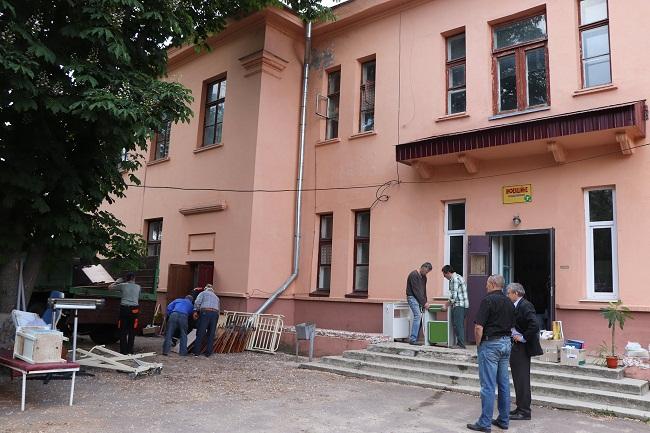 В Олександрії розпочався ремонт інфекційного відділення (ФОТО)