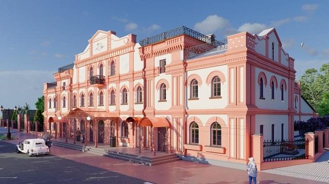 Алеї та лавки: як виглядатиме сквер біля Олександрійського театру