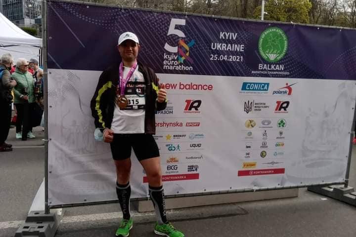 Олександрієць взяв участь у Євромарафоні