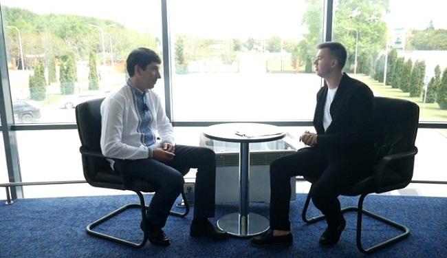 Цікаве інтерв'ю з Сергієм Кузьменком (ВІДЕО)