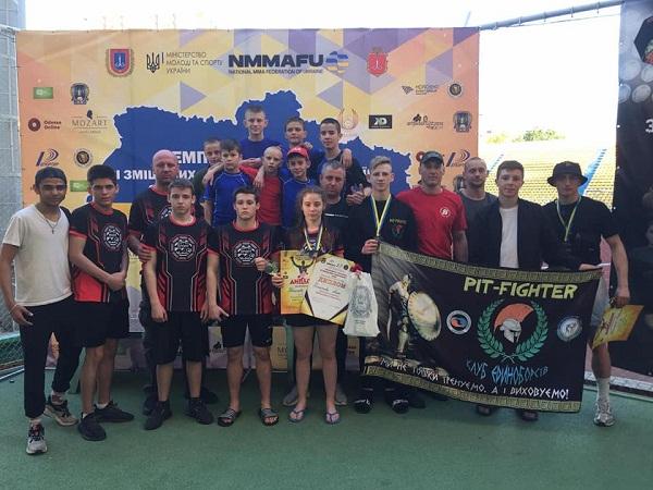Олександрійка здобула перемогу на Чемпіонаті України зі змішаних єдиноборств ММА