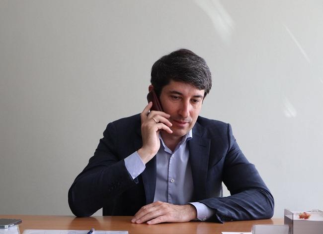 Сергій Кузьменко на прямому зв'язку з олександрійцями