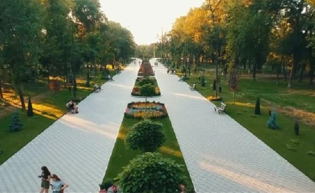 Реконструкція парку Шевченка (ВІДЕО)