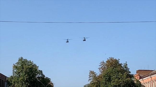 Показовий політ від олександрійських авіаторів (ВІДЕО)