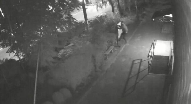 На Олександрійщині  вандал пошкодив дошку оголошень та дорожні знаки