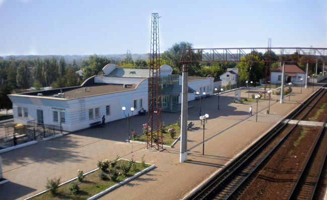 Каса залізничного вокзалу в Олександрії тимчасово не працюватиме