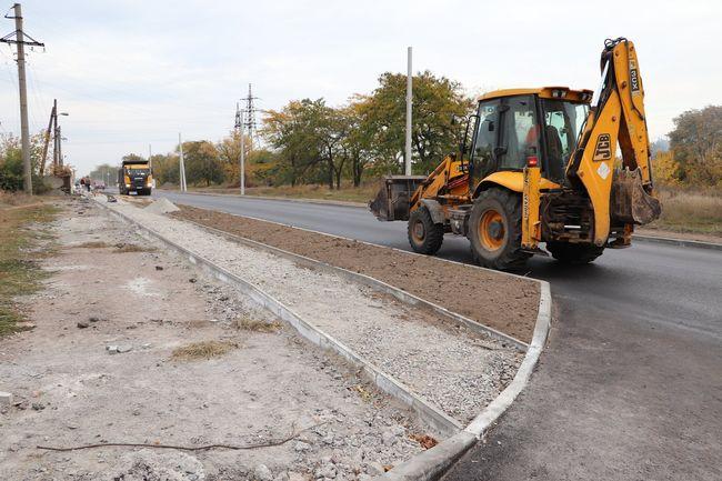 Капітальний ремонт доріг в Олександрії триває